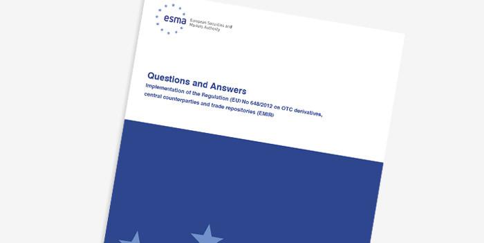EMIR Q&A update document cover