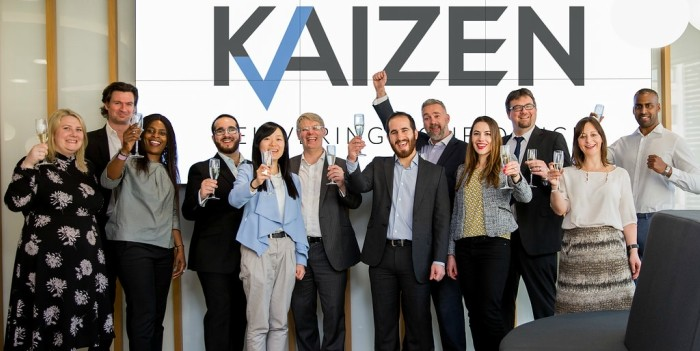 queen's award enterprise kaizen reportshield data testing innovation