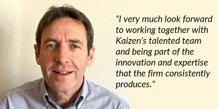 Leading regulatory expert David Nowell joins rapidly-growing Kaizen team