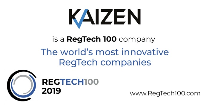 Kaizen Reporting named on RegTech 100 list
