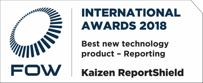 FOW Awards Best Regulatory Reporting Product 2018
