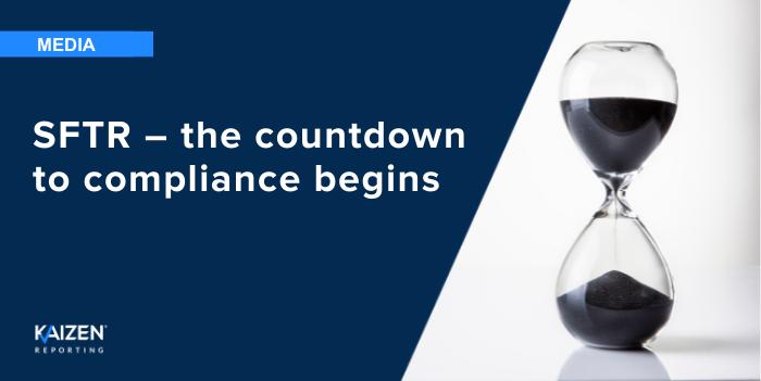 SFTR: The final countdown