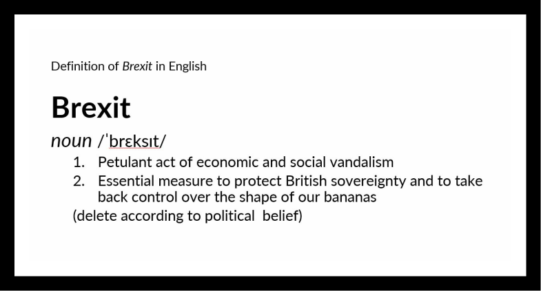 Definition of Brexit in English 2