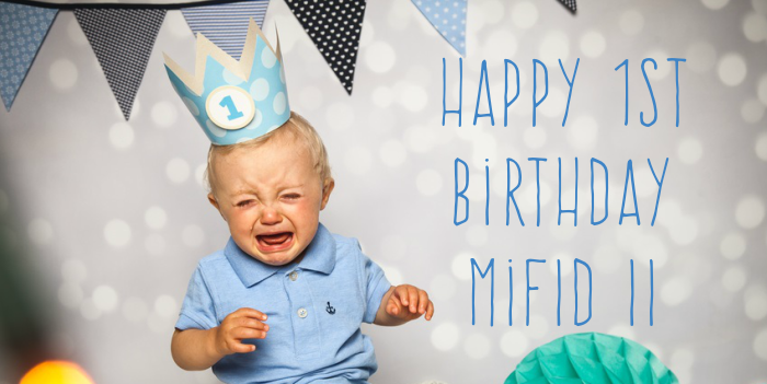MiFIR transaction reporting – a happy first birthday WEBSITE