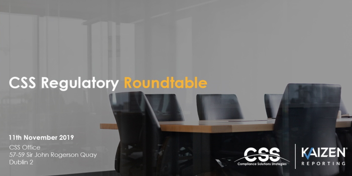 Join us in Dublin for our Regulatory Roundtable