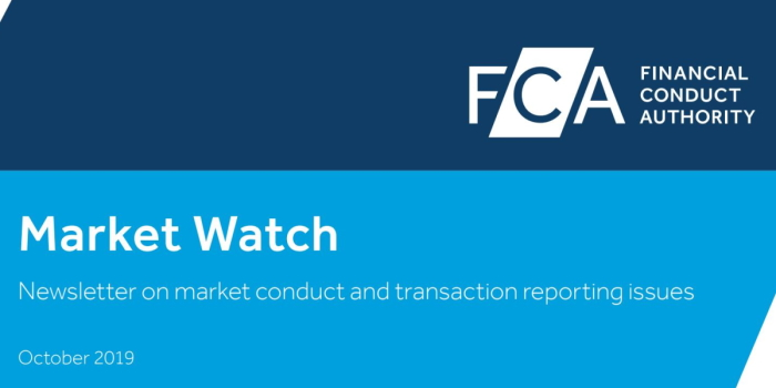 Market Watch 62 – FCA warns on further transaction reporting errors