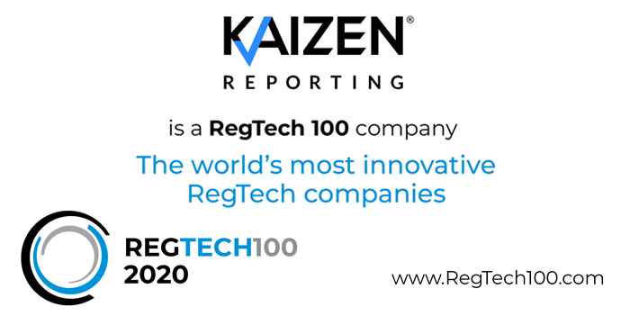 Kaizen Reporting 'one of the world's most innovative RegTech firms' for second year in a row