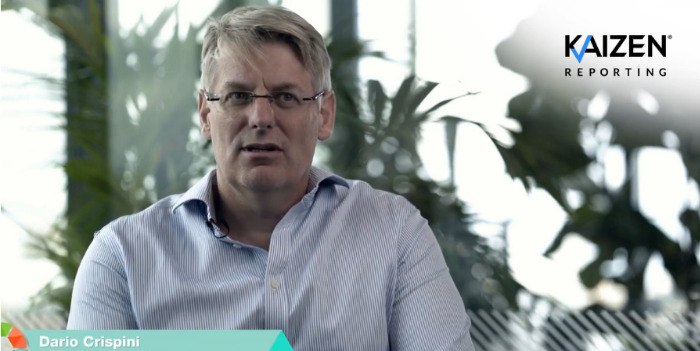 Video series: Dario Crispini on why he set up Kaizen Reporting
