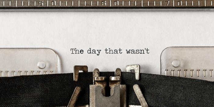 SFTR – the day that wasn't