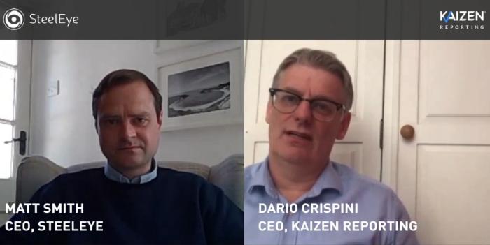 WATCH: Kaizen CEO Dario Crispini talks to Matt Smith, CEO of Steel Eye