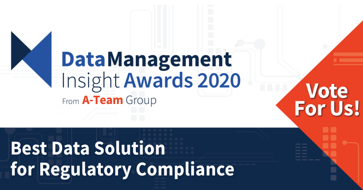 Vote for Kaizen in this year's Data Management Insight Awards!