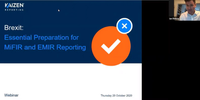 WATCH: Brexit – Essential Preparation for EMIR and MiFIR Reporting