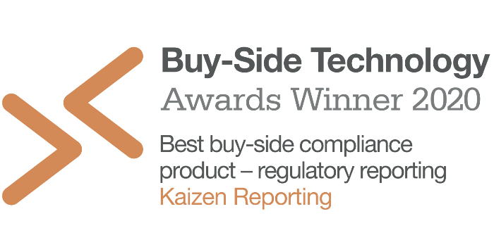 Media release: Kaizen Reporting wins 'Best Compliance Product – Regulatory Reporting'