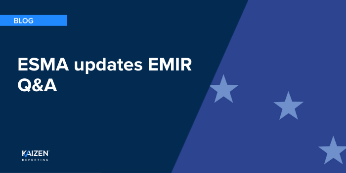 ESMA updates its EMIR Q&A – delivery type for credit derivatives and reference rates