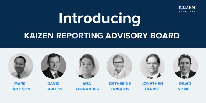 Media release: Kaizen Reporting announces new Advisory Board