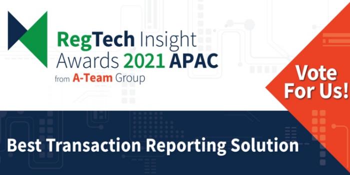 Help us win at the RegTech Insight Awards 2021