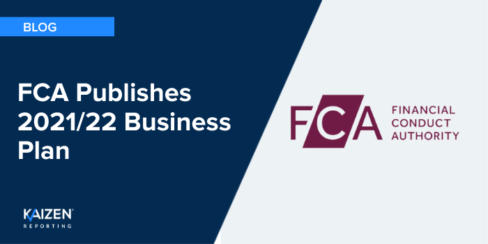 FCA Publishes 2021/22 Business Plan