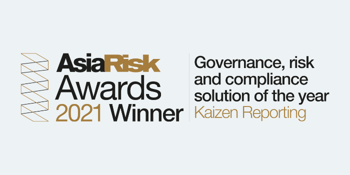 Kaizen Reporting wins at the Asia Risk Technology Awards 2021