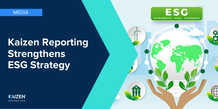 Media release: Kaizen Reporting strengthens ESG strategy with the appointment of ESI Monitor