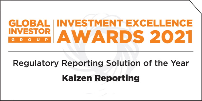 Kaizen Reporting wins at Global Investor Group's Investment Excellence Awards 2021